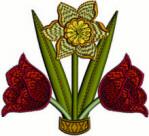 FREE Triple Graceful Flowers