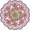FREE Floral Medallion