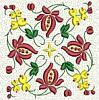 FREE Floral Stipple Quilt Block 5