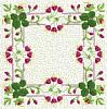 FREE Floral Stipple Quilt Block 8