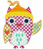 Free Winter Motif Owl