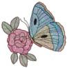 FREE Mylar Butterfly & Flower