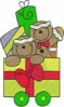 FREE Christmas Train Gingerbread Car